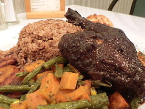 Jamaican jerk chicken - Negril area restaurants
