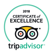 2018 Certificate of Excellence TripAdvisor - Rondel Village