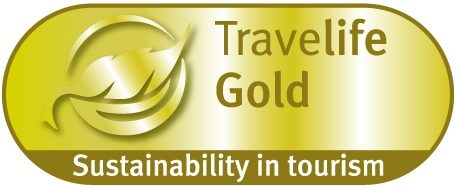 Travellife Gold Award Sustainability in Tourism
