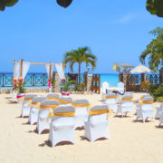 Jamaica beach wedding