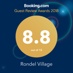 Rondel Village Booking.com 2018 award